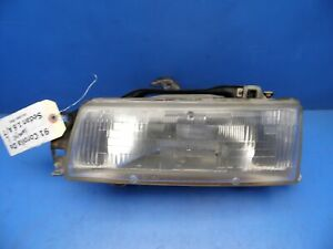 90 92 Toyota Corolla Oem Left Driver Side Headlight Assembly Stock Factory flaw