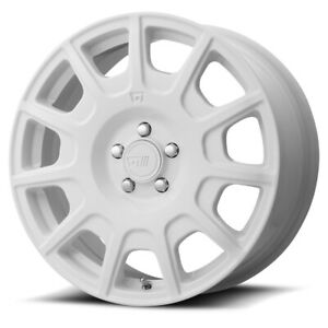 Motegi Mr139 Rim 15x7 5x100 00 Offset 15 White quantity Of 4