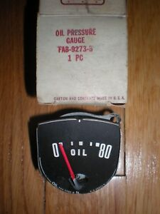 Nos 1952 Ford Passenger Car Oil Pressure Gauge