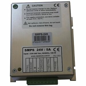 Datakom Smps 245 Generator Battery Charger 24v 5a Dc Power Supply