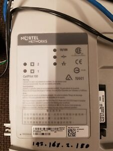 Nortel Network Callpilot 100 Ntab9865 With Missing Cover