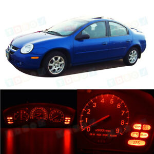 Bright Red Gauge Speedometer Bulbs Instrument Cluster Led Light For 00 05 Neon