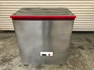Chest Blast Freezer On Wheels Strada Drier S 2 7426 Commercial Restaurant Nsf