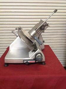 12 Manual Deli Meat Cheese Slicer Hobart 2812 6760 Commercial Nsf Slicing Shar