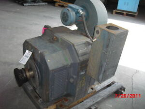 100 Hp Dc Reliance Electric Motor 1750 Rpm 502at Frame Dpfv 240 V