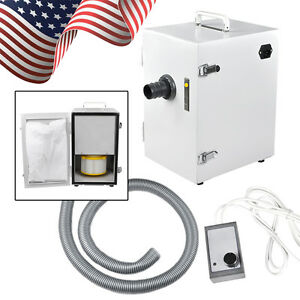Portable Dental Lab Digital Dust Collector Vacuum Cleaner Machine Single row Usa