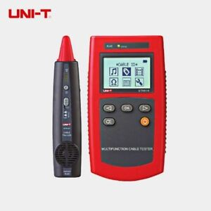 Uni t Ut681a Network Multimeter Cable Finder Set With Loop Resistance Test