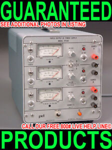 Power Design Tp340 Triple Output Variable Regulated Linear Bench Dc Power Supply