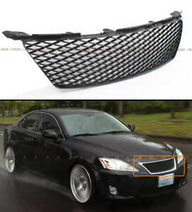 For 2006 2008 Lexus Is250 Is350 F Sport Style Front Bumper Honeycomb Mesh Grille