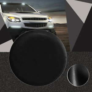 Lined Vinyl Spare Tire Cover P225 75r15 Black 225 75 15 Leather Grain Truck Suv