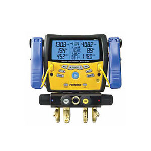 Fieldpiece Sman460 4 port Wireless Manifold W Micron Gauge Clamps