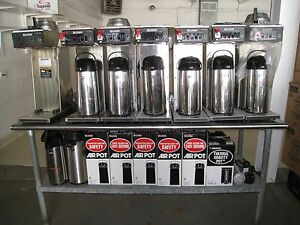 Bunn o Matic Tall Thermal Coffee Air Pots Must Sell Out Of Business Sale
