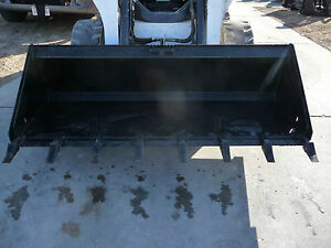 Bobcat Cat Gehl Skid Steer Attachment 72 Low Profile Tooth Bucket Ship 149