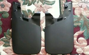 05 13 14 15 Toyota Tacoma Oem Mud Flaps Front Pair good Condition