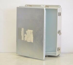 Hoffman Industrial Control Panel Enclosure A1614chemc Emi rfi Shield Box 16x14x6