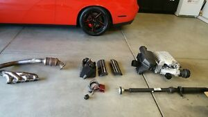 2016 Challenger Hellcat Supercharger Driveshaft Fuel System Etc