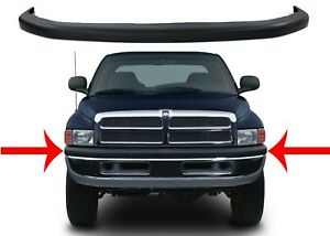 Replacement Upper Front Bumper Cover For 1994 2001 Dodge Ram New Free Shipping