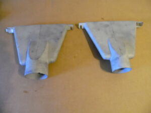 1954 54 Gmc Pickup Truck Heater Defrost Ducts For Dash Suburban Rat Rod