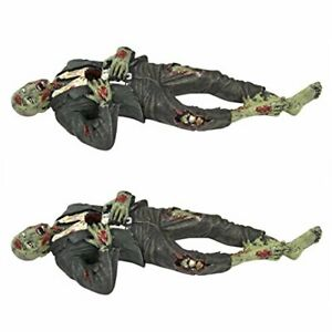 Death Desk Accessories Impaled Zombie Figure Set Of Two Pencil Holder Drawer
