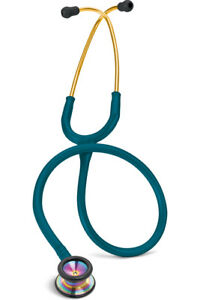 Littmann Classic Ll S e Pediatric Sf Rainbow Finish Caribbean Blue L2153 Car