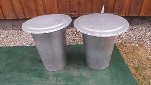 2 Maple Syrup Aluminium Sap Buckets 2 Lids Covers 2 Taps Spouts Spiles