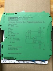 Phoenix Contacts Temperature Measuring Transducer Macx Mcr ex sl rtd i 2865939