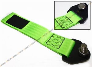 Neon Green Jdm Racing Heavy Duty Tow Towing Strap Rated At 10 000 Lb For Subaru
