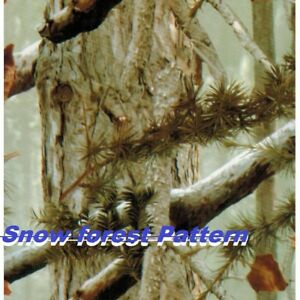 1mx30m Water Transfer Printing Film Hydrographic Film camo Snow Forest Pattern