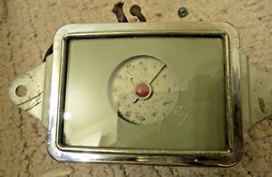 1937 Buick Electric Clock Original Gm