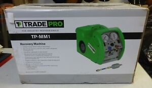 New Robinair Tradepro Tp mm1 Refrigerant Recovery Machine Hvac