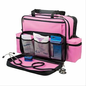 Hopkins Medical Products Nurses Home Health Shoulder Bag Pink 1 Ea