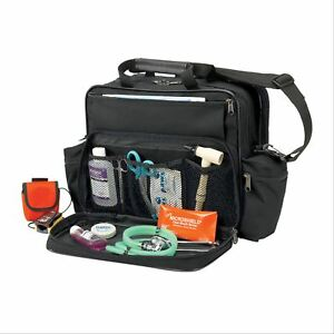 Hopkins Medical Products Nurses Home Health Shoulder Bag Black 1 Ea