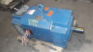 60 Hp Dc Reliance Electric Motor 850 Rpm Mc3212atz Frame Dpfv 500 V