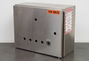 Saginaw Control Sce 16el2008sslp Electrical Enclosure 16 x20 x10 Stainless Ss