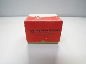 New Triad F 33u Filament Transformer 117v Primary