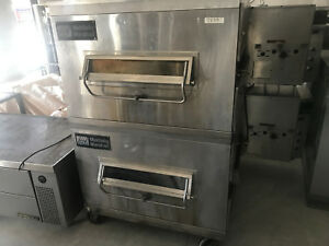 Middleby Marshall Conveyor Pizza Oven Nat Gas Double Deck Model Ps200