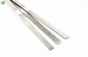 Dental Ortho Stainless Metal Polishing Strips Double Sided 4mm 12 Strips Per Box