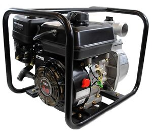 Shop4omni 4 stroke 132 Gpm 2 Inch 7 Hp Gas Powered Portable Water Pump