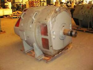 560 Kw General Electric Dc Generator 1175 Rpm 7512 Frame Dp 500 V