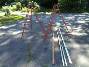 Transit Tripods And Grade Poles For Surveying