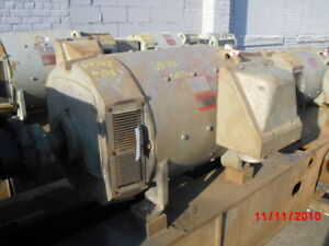 240 Kw General Electric Dc Generator 1800 Rpm 508aty Frame Dp 500 V
