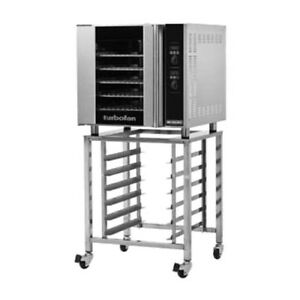 Moffat E32d5 sk32 Single Deck Electric Turbofan Convection Oven With Sk32 Stand
