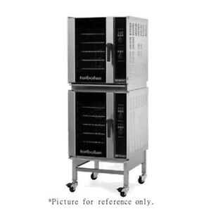 Moffat E33d5 2 Stacked Electric Turbofan Convection Oven