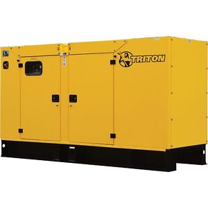 100 Kw Triton Diesel Generator Tp p100 Perkins Engine And Deep Sea Controller