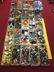 Capacitor Kit Assortment Of Ceramic Mylar And Electrolytic