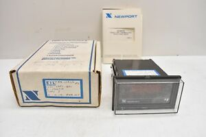 Newport Quanta Type J Thermocouple Digital Panel Meter Qxxxxj