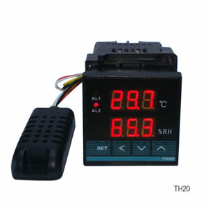 Digital Temperature And Humidity Controller With Relay Output celsius