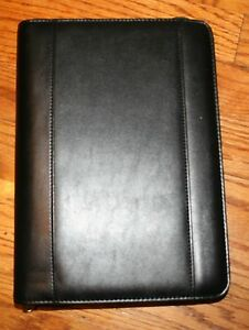 Franklin Covey Leather 365 Day Planner Organizer Day Timer Day Runner Mint