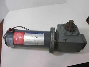 Indiana Variable Speed D c Motor 1725 Rpm Doerr Electric Gear Reduction Box