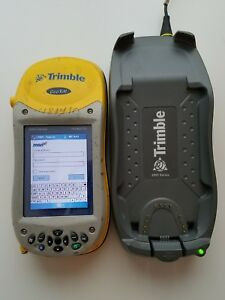 Trimble Geoxm 2005 Series Data Collector With Charger Cradle 60950 50 Geo Xm 2